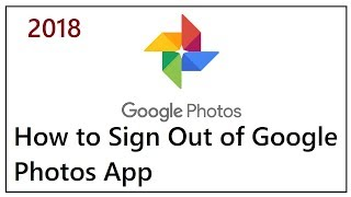 How to Sign Out of Google Photos App