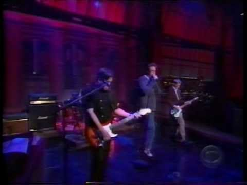 Harvey Danger - Flagpole Sitta (Letterman, 1998)