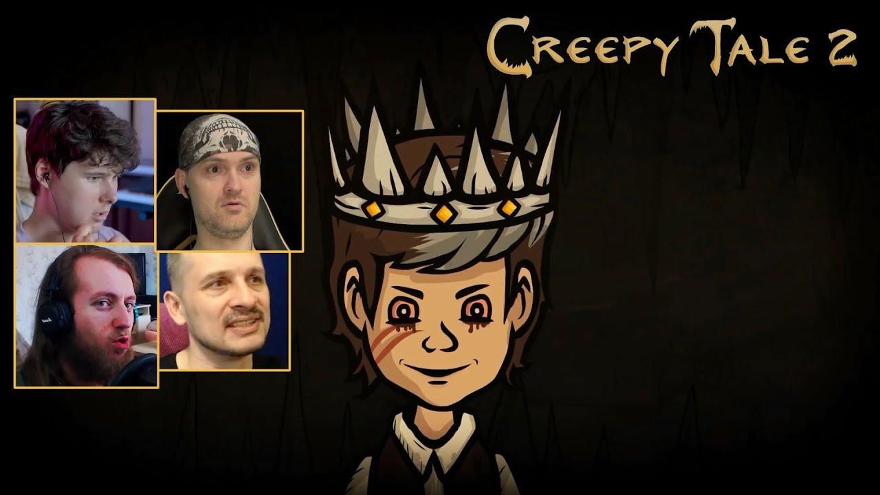 Реакция Летсплейщиков на Плохую Концовку ➤ Creepy Tale 2