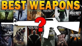 The Best Gun in EVERY Call of Duty!