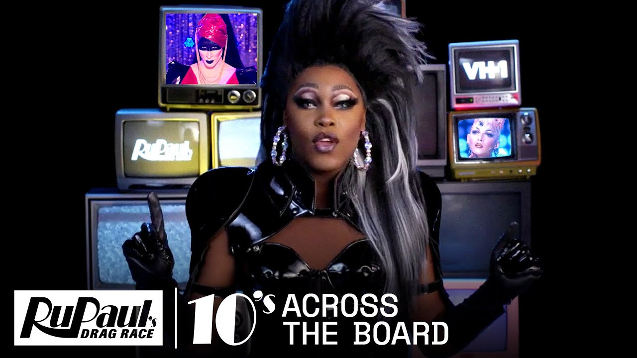 Asia O'Hara Counts Down Runway Looks | 10s Across the Board | RuPaul's Drag Race