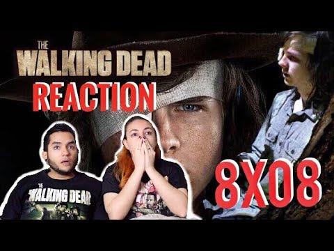 """The Walking Dead Season 8 Episode 8 """"How It's Gotta Be"""" REACTION! Mid-Season Finale"""
