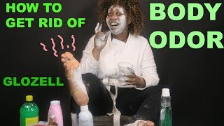 How to Get Rid of Body Odor - GloZell thumbnail