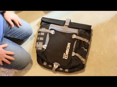 Install: Mosko Moto Backcountry 35L Motorcycle Pannier - R1200 GS Adventure LC
