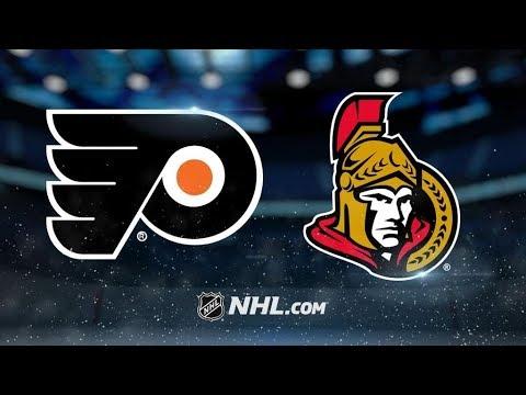 Philadelphia Flyers Vs. Ottawa Senators | NHL Game Recap | October 26, 2017 | HD