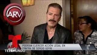Sergio Goyri podría enfrentar acciones legales por racismo | Al Rojo Vivo | Telemundo