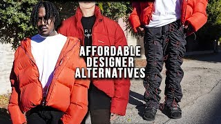 AFFORDABLE DESIGNER ALTERNATIVES Men's Clothing Haul 2020 | Balenciaga Puffer Jacket, 99%is