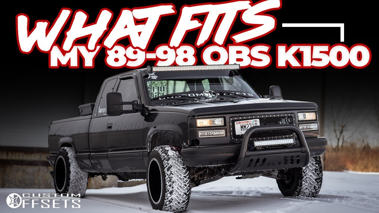 What Fits My 89-98 OBS K1500 - YouTube
