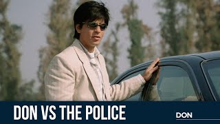 Don VS The Police | Don | Shah Rukh Khan | Boman Irani | Farhan Akhtar