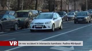 Un nou accident în intersecția kamikaze Padina Mărășești