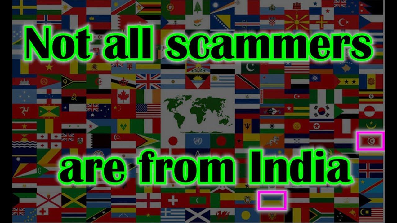 Tous les escrocs technologiques ne sont pas en Inde! + vidéo