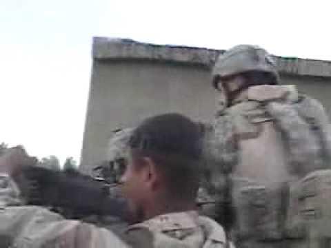 AT-4 shot in Iraq