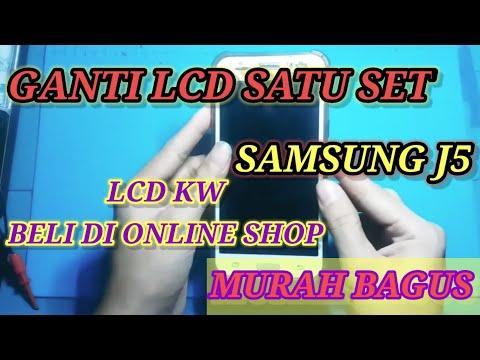 Cara Mengganti Lcd Samsung J5 / J500g / J5 2015