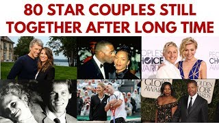 80 Famous couples who have been together for a long time #St...