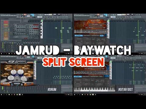 Jamrud - Baywatch (Karaoke) FL Studio