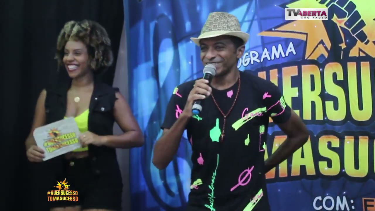 Edinho Silva no PROGRAMA #QUERSUCESSOTOMASUCESSO COM EDDIE MELLO 05/04