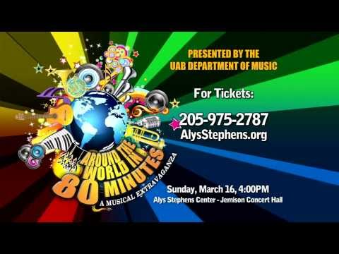 Around the World in 80 Minutes: A Musical Extravaganza