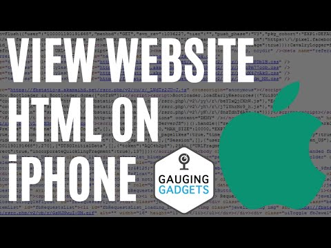 How To View Website Page Source On IPhone Or IPad - IOS - View HTML On Mobile