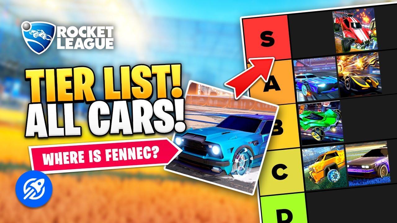 Rocket League Tier List Car Rankings Youtube