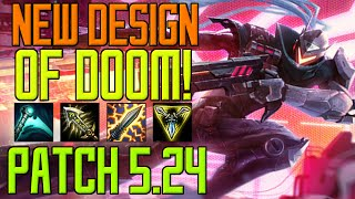 ◄ New Design of Doom! ► Patch 5.24 - Lucian Gameplay [German/HD/S5]