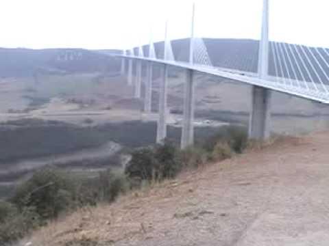 Millau bridge(ミヨー橋)の風景