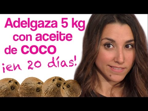 Aceite de coco para adelgazar en cuanto tiempo
