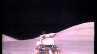 Apollo 17 Part 7 The  LEM Liftoff from The Moon