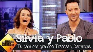 Pablo Puyol y Silvia Abril juegan a