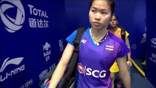 TOTAL BWF Thomas & Uber Cup Finals 2016   Badminton QF-Uber Cup-THA vs IND