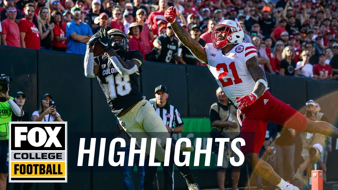 Colorado Buffaloes defeat No. 25 Nebraska after trailing by 17  COLLEGE FOOTBALL HIGHLIGHTS
