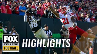 Colorado Buffaloes defeat No. 25 Nebraska after trailing by 17 FOX COLLEGE FOOTBALL HIGHLIGHTS
