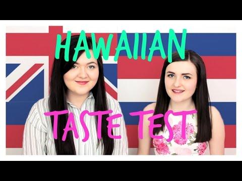 SCOTTISH GIRLS TASTE HAWAIIAN FOOD