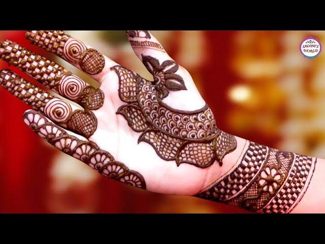 Latest Mehndi Designs For Hands | Arabic Henna | Henna Tattoo by Jyoti Sachdeva.