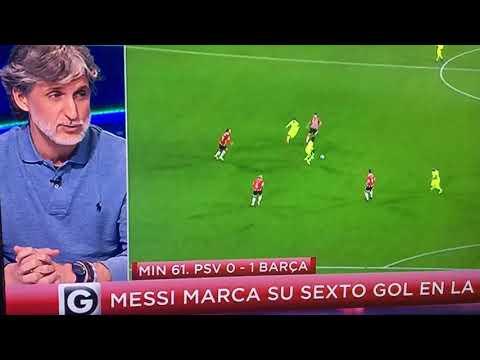 Hasta los madridistas elogian el gol de Messi al Psv
