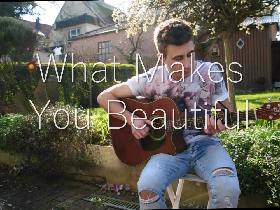 what makes you beautiful guitar cover