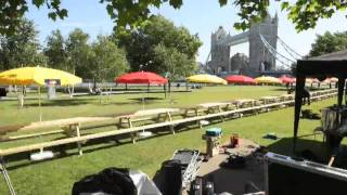 Alex James And The World's Longest Picnic Table With Mastercard