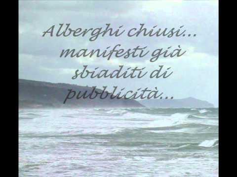 Loredana Bertè - Il mare d'inverno (testo)