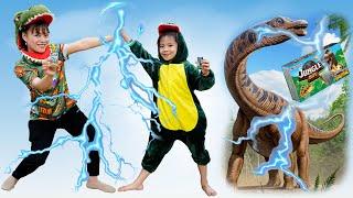 Tập 2: Chú khủng long Jungle Boy bí mật của AnAn 💎 AnAn ToysReview TV 💎