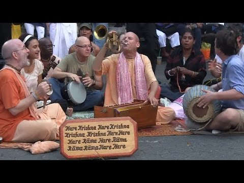 The Energy and Joy At Union Square ...Hare Krishna