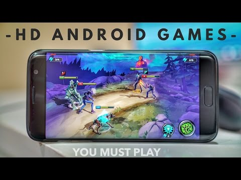 10 Best Android Games You MUST TRY (2016)