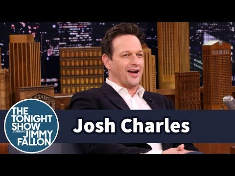 Josh Charles Teleports from The Tonight  Using His Magic Zipper