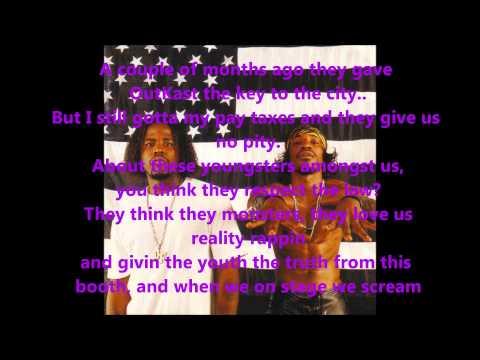 OutKast - Gasoline Dreams (Lyrics on screen) HD
