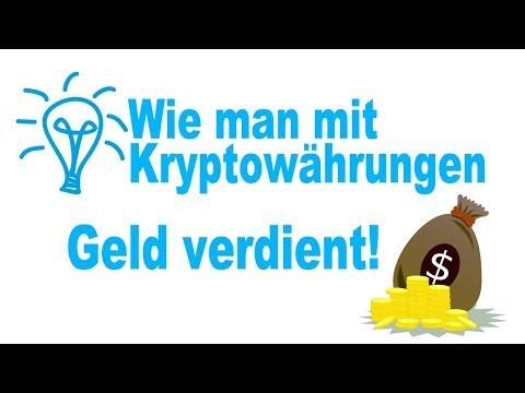 Geld verdienen mit Kryptowährungen (Bitcoin, Ethereum): Der beste Tipp aller Zeiten!