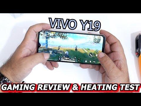 VIVO Y19 GAMING REVIEW & HEATING TEST  (URDU /HINDI)