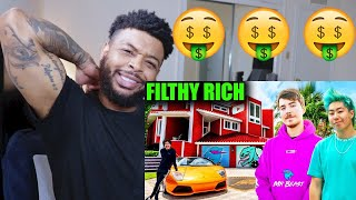 10 Rich YouTubers Who Are Richer Than We'll Ever Be | Reaction