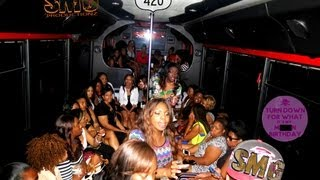 Repeat youtube video 420 HOUSTON PARTY BUS PT 2  FROM SADE WATSON AND SMGTV
