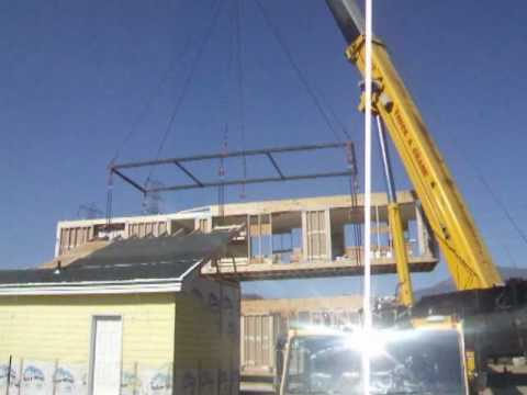 California Modular Home Set By Cutting Edge Homes - Youtube