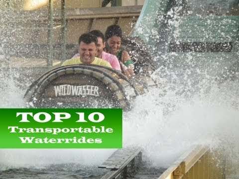TOP 10 Transportable Waterrides
