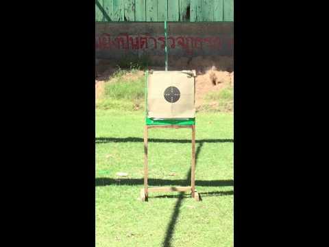 ทดสอบปืน glock 26 15เมตร