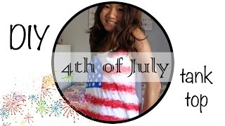 Diy 4th Of July Tank Top | Kd319